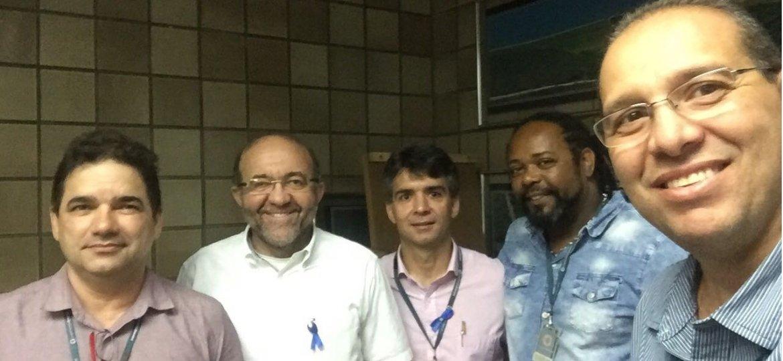 Daniel Alves, Manoel Vieira, Rodolfo Coutinho, Damião e Berilo