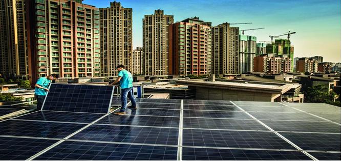 Energia solar avança